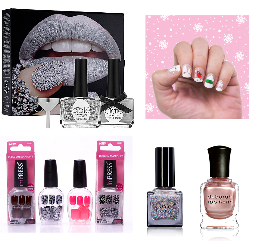 Nail trends to flaunt for the Holidays - Marie France Asia, women\'s ...