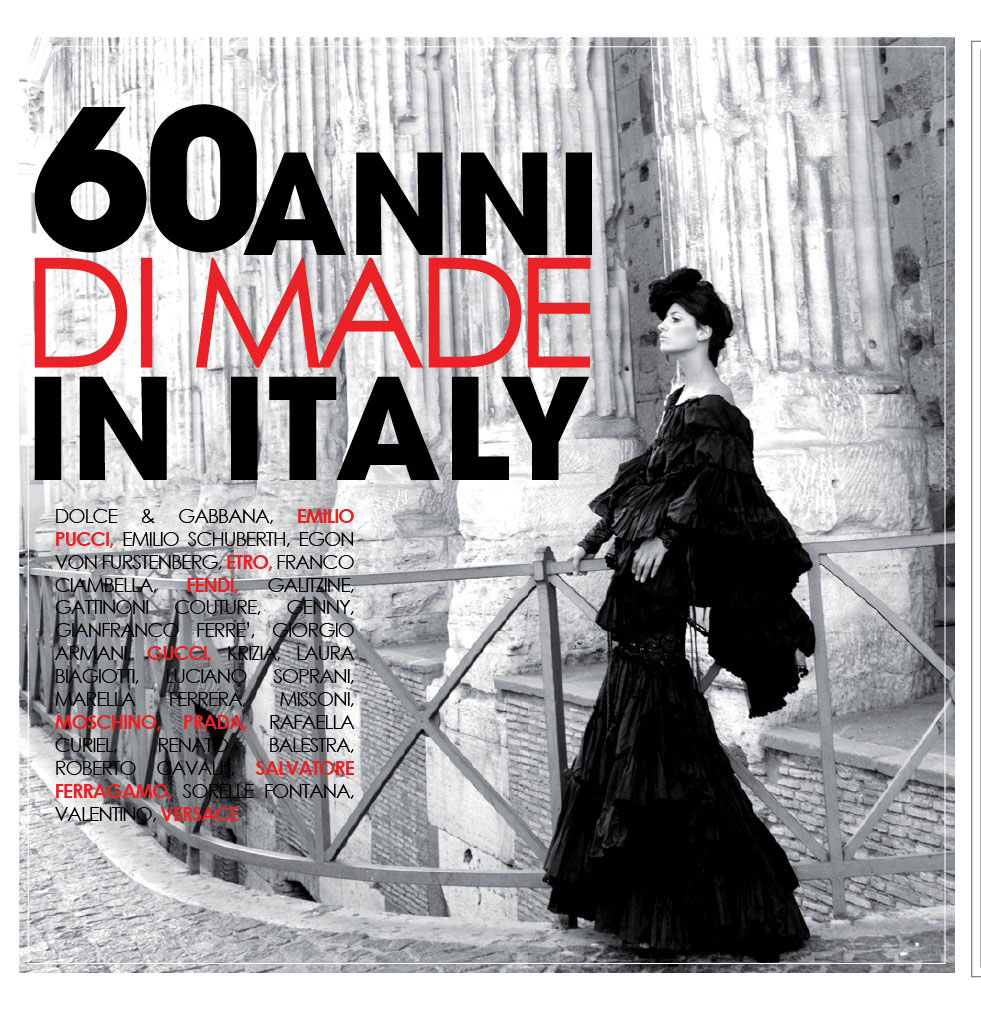 Italian fashion 39 60 years of made in italy 39 exhibition to for Italian fashion websites