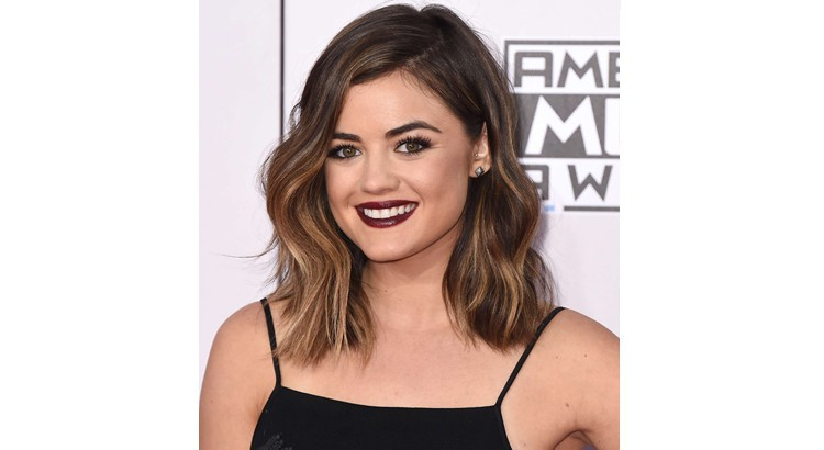 Get Lucy Hale's Dark Lip Look From theAMAs recommendations