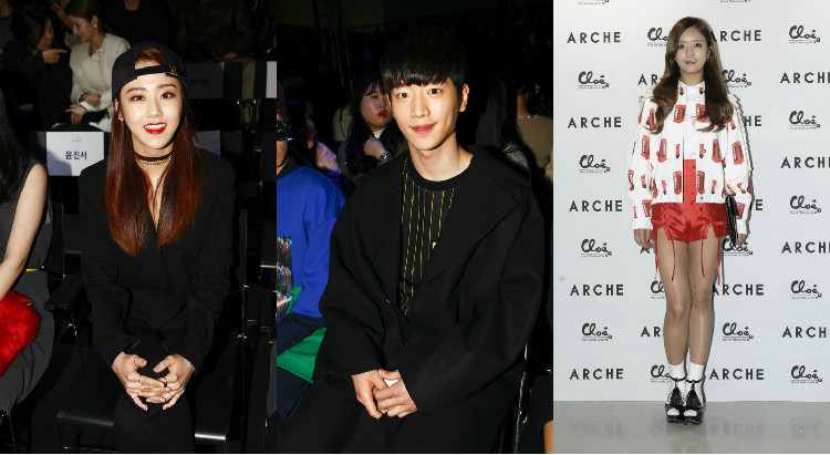 Seoul Fashion Week Fw15 K Pop Idols And Celebrities Spotted At The