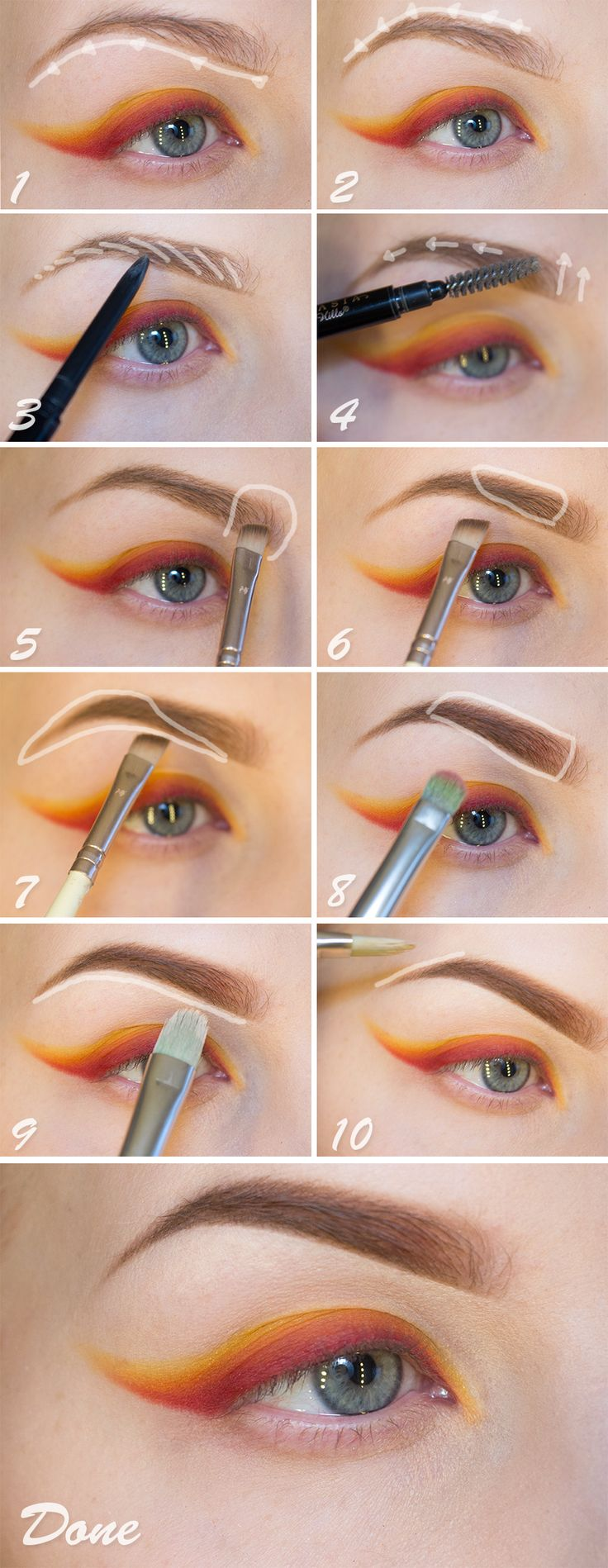 Eyebrow Styles: Fade Brow: The Eyebrow Trend That's Sweeping Instagram