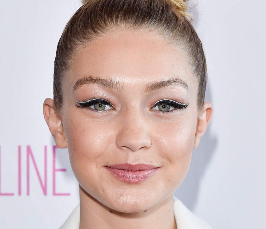 Face Of The Day Gigi Hadid At Maybelline S 100 Party