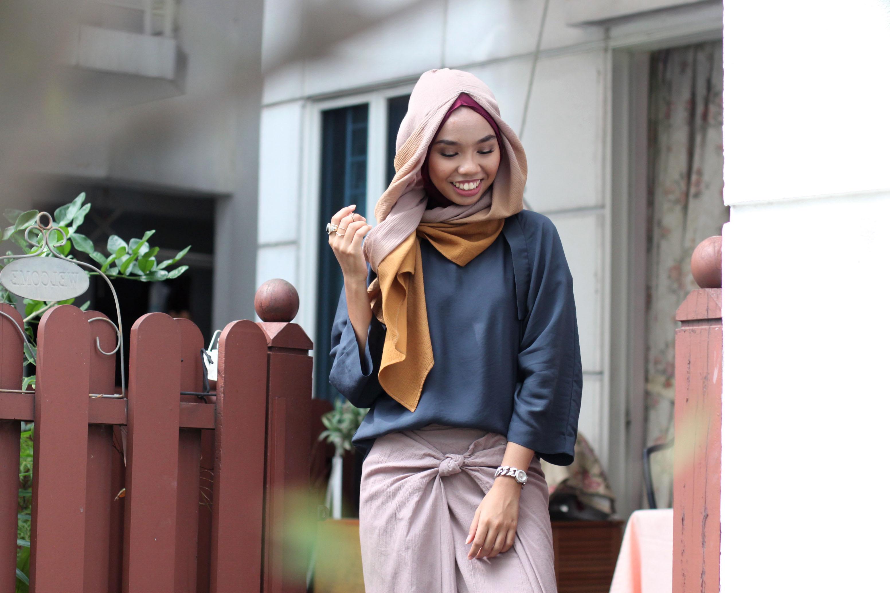 Hijabster Chic Hari Raya Aidilfitri Special Styling