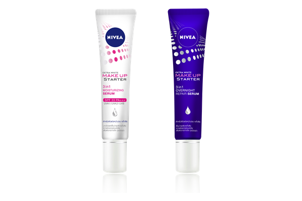 Beauty Review: Nivea 3 in 1 Repairing Day and Night Serums