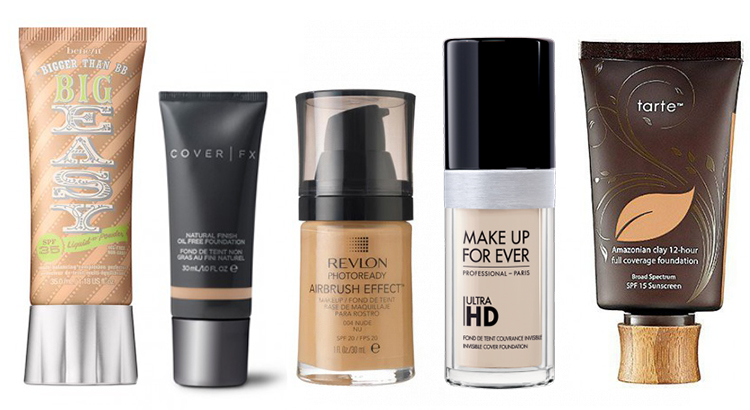 Best liquid foundation for large pores
