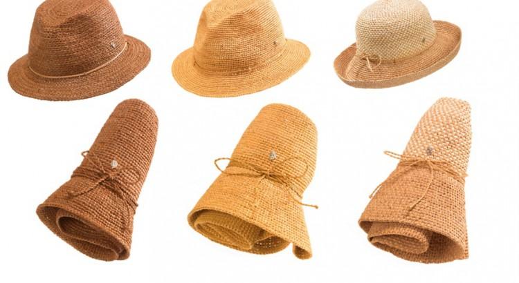 3b72ef33c2ef7 Helen Kaminski  Travel-friendly foldable hats