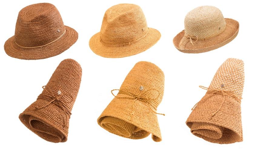 df36bd24365e62 Helen Kaminski: Travel-friendly foldable hats