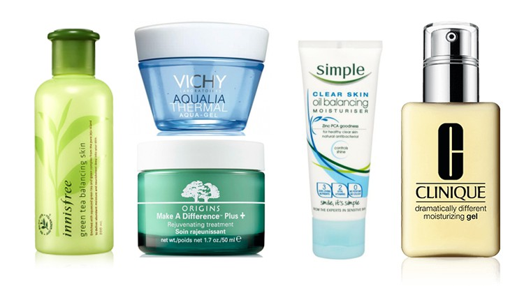 water based moisturizer for oily skin