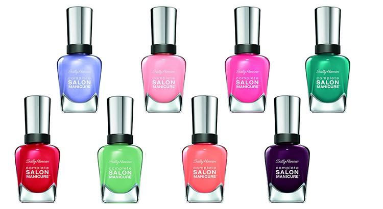 Sally Hansen renews Complete Salon Manicure nail polish formula