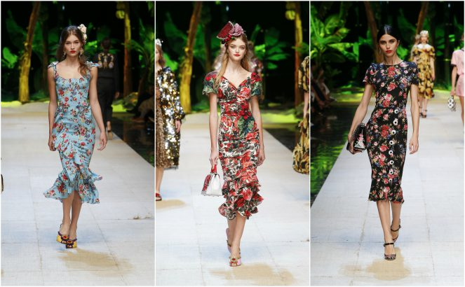 6d47338af2 20 Best looks from Dolce & Gabbana Spring/Summer 2017
