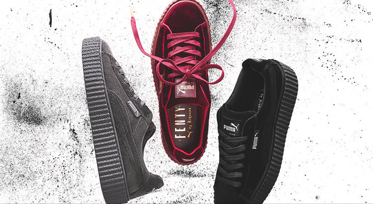 d8c721cd5df7 FENTY PUMA by Rihanna to drop The Velvet Creeper in Singapore
