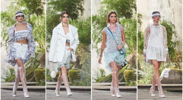 4c9177261c68 PFW 2018  Chasing waterfalls at Chanel s Spring 2018 Collection